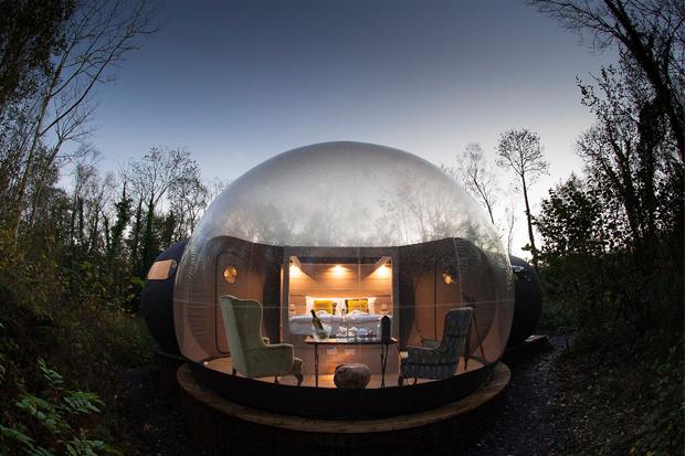 Картинки по запросу Дом-пузырь ирландия