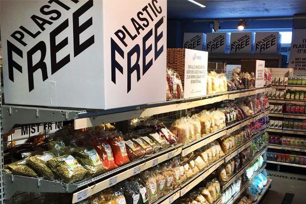 e29ba821fe256d В Амстердаме открылся первый продуктовый магазин без пластика