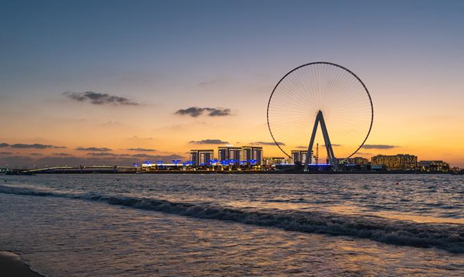 Колесо обозрения дубай цена купить недвижимость Шарджа Аль-Джазира Аль-Хамра