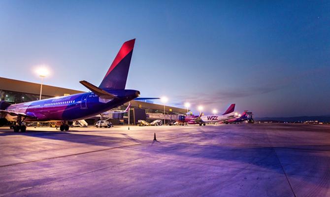 Wizz Air предлагает скидку 20 % на полеты по Европе