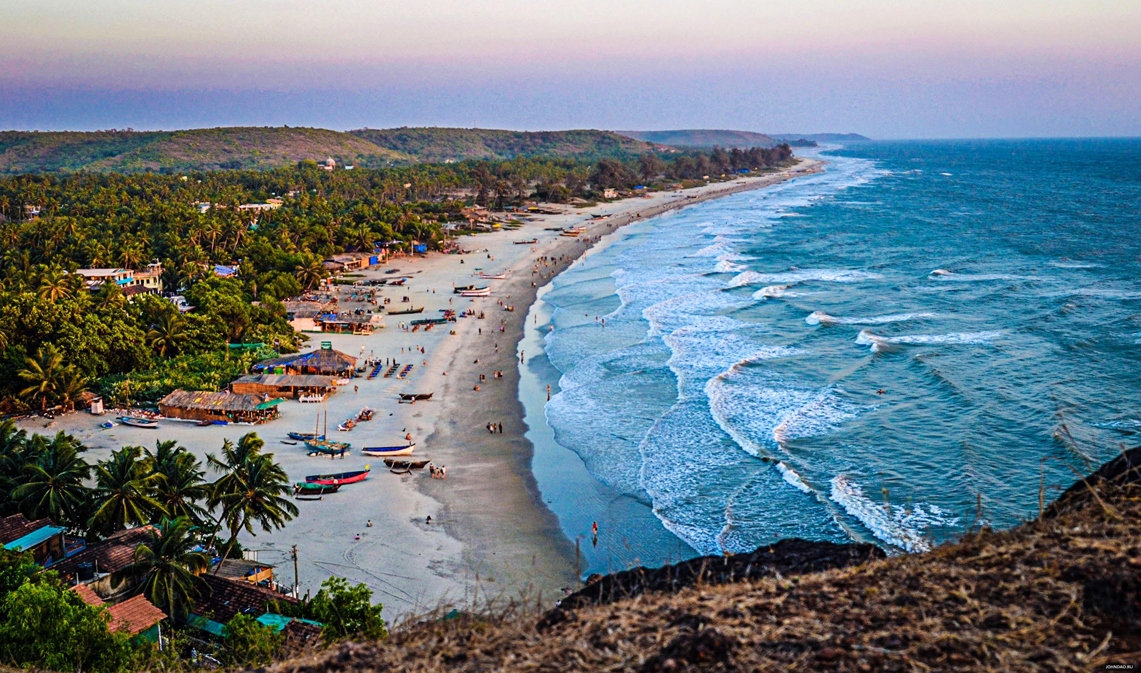 картинка фотография курорта Гоа в Индии