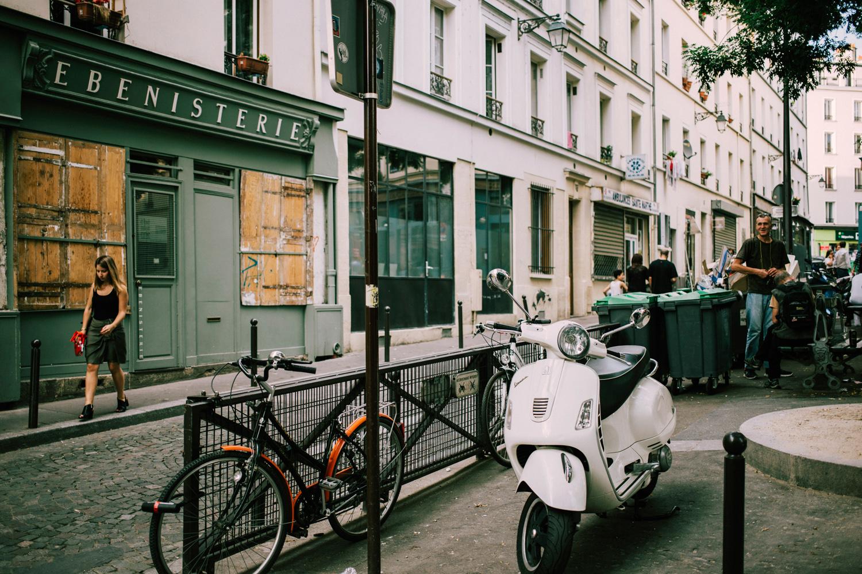 rues de paris automne