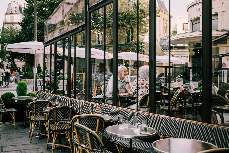 cafés de paris automne