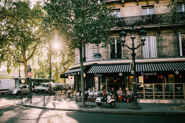 terrasse de paris automne