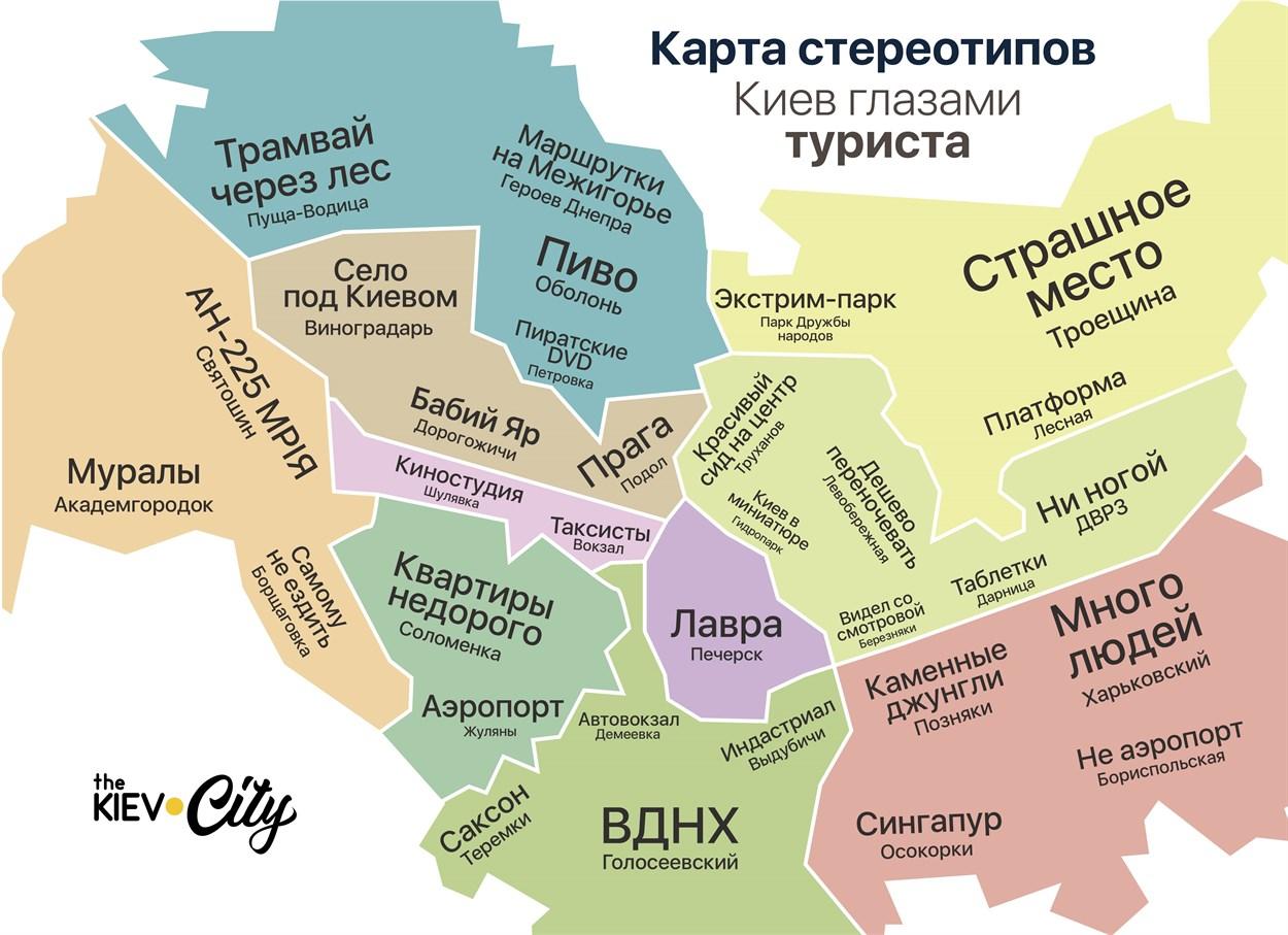 карта киева одной картинкой