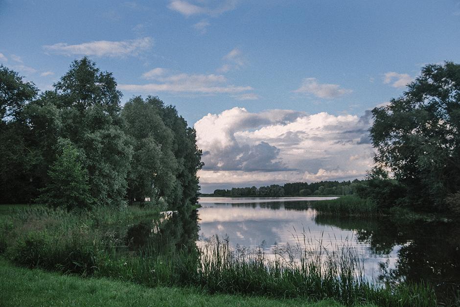 Nature bélarusse région de Moguilev