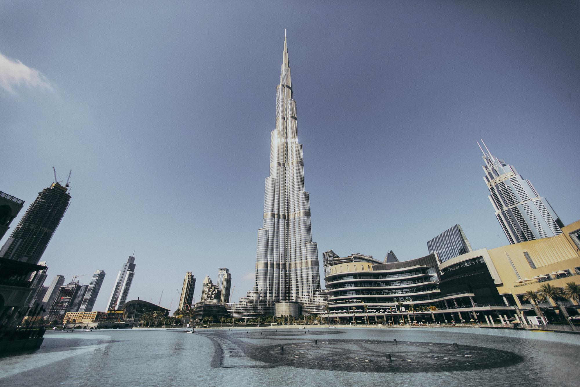 Дубай небоскребы дома за рубежом