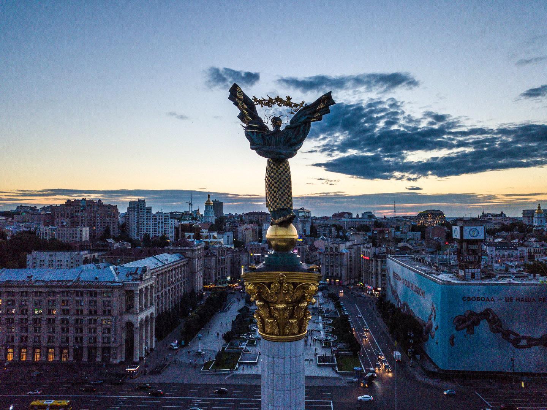 Киевляне о введении военного положения