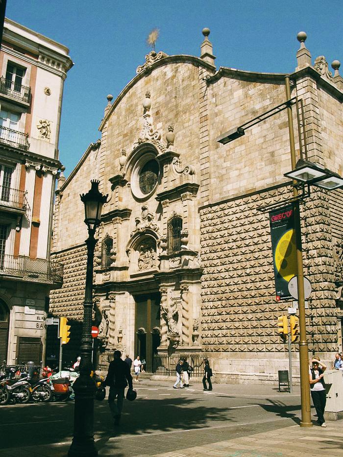барселона достопримечательности Скрытые сокровища Барселоны Kerk Bethlehem