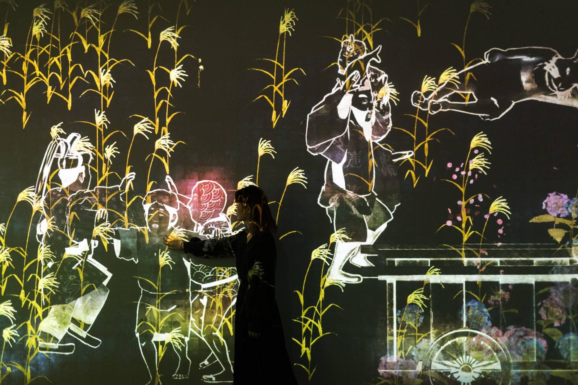 Токио Другая реальность: первый в мире Музей цифровых искусств в Токио 13603