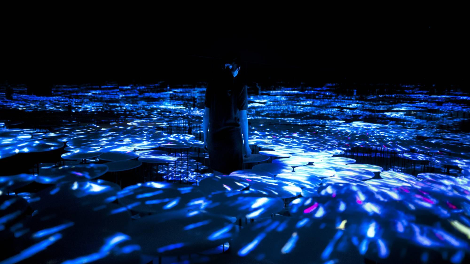 Токио Другая реальность: первый в мире Музей цифровых искусств в Токио 14384