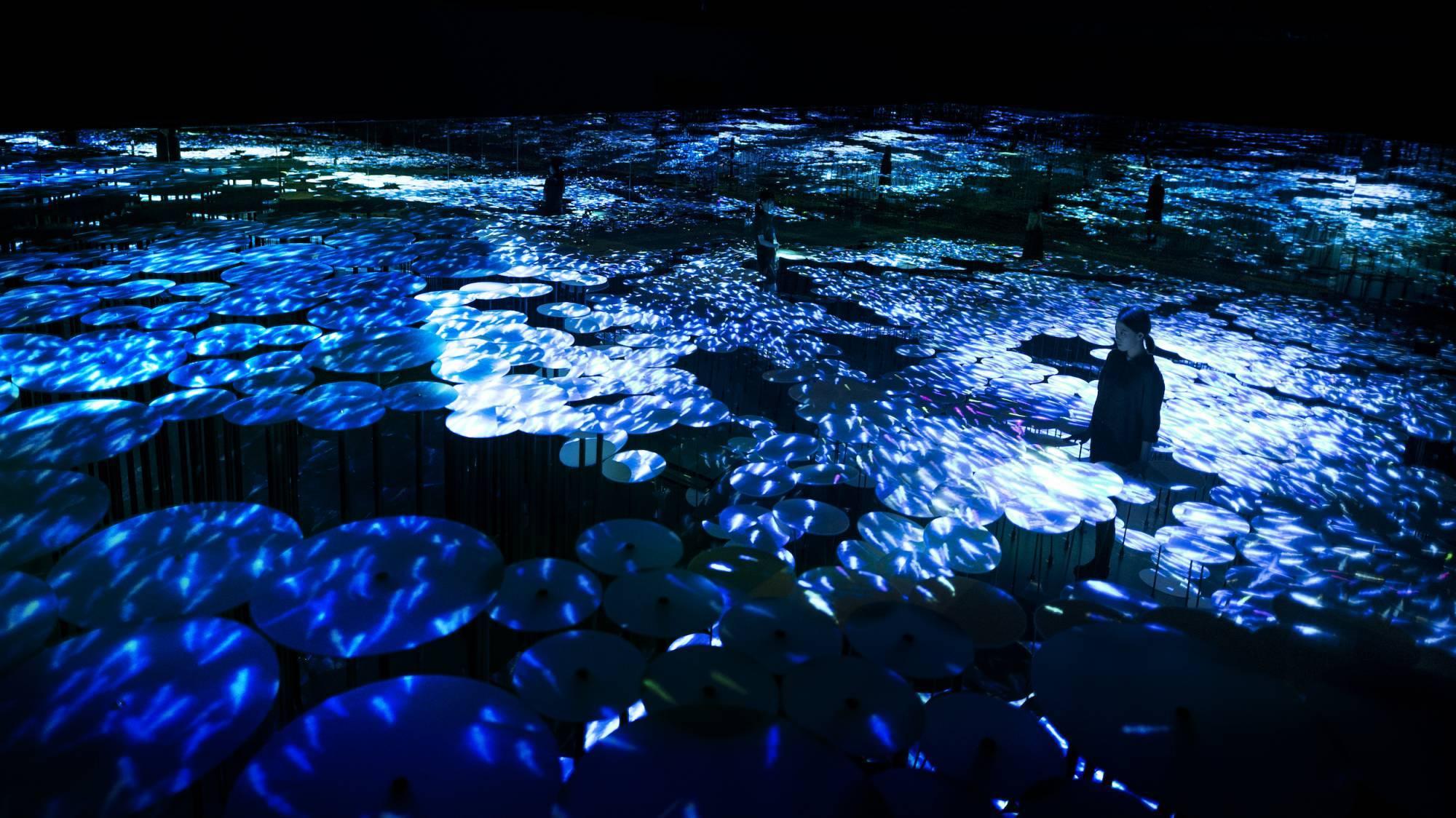 Токио Другая реальность: первый в мире Музей цифровых искусств в Токио 14385