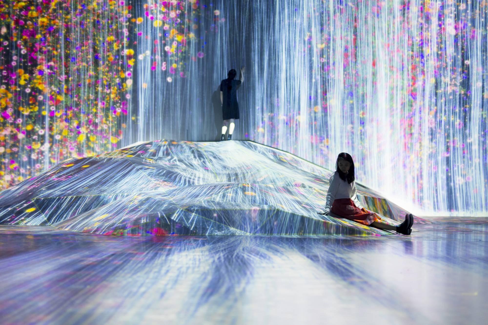 Токио Другая реальность: первый в мире Музей цифровых искусств в Токио 14393