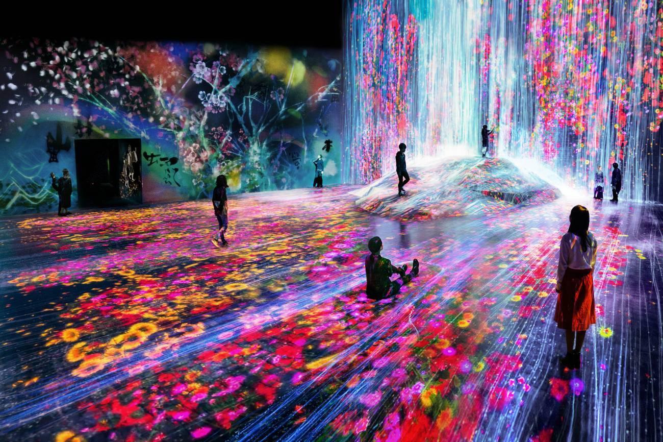 Токио Другая реальность: первый в мире Музей цифровых искусств в Токио 14782