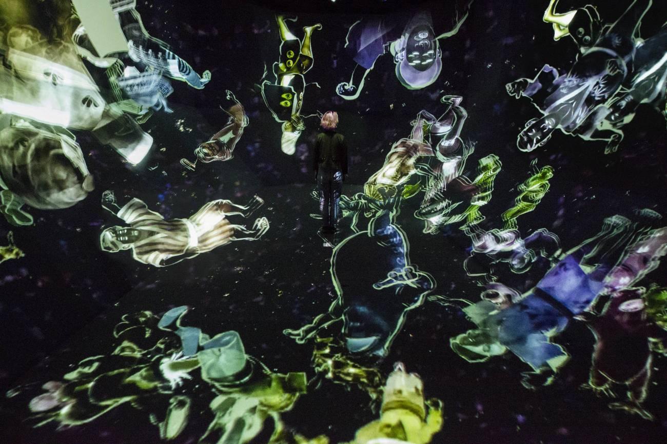 Токио Другая реальность: первый в мире Музей цифровых искусств в Токио 14910