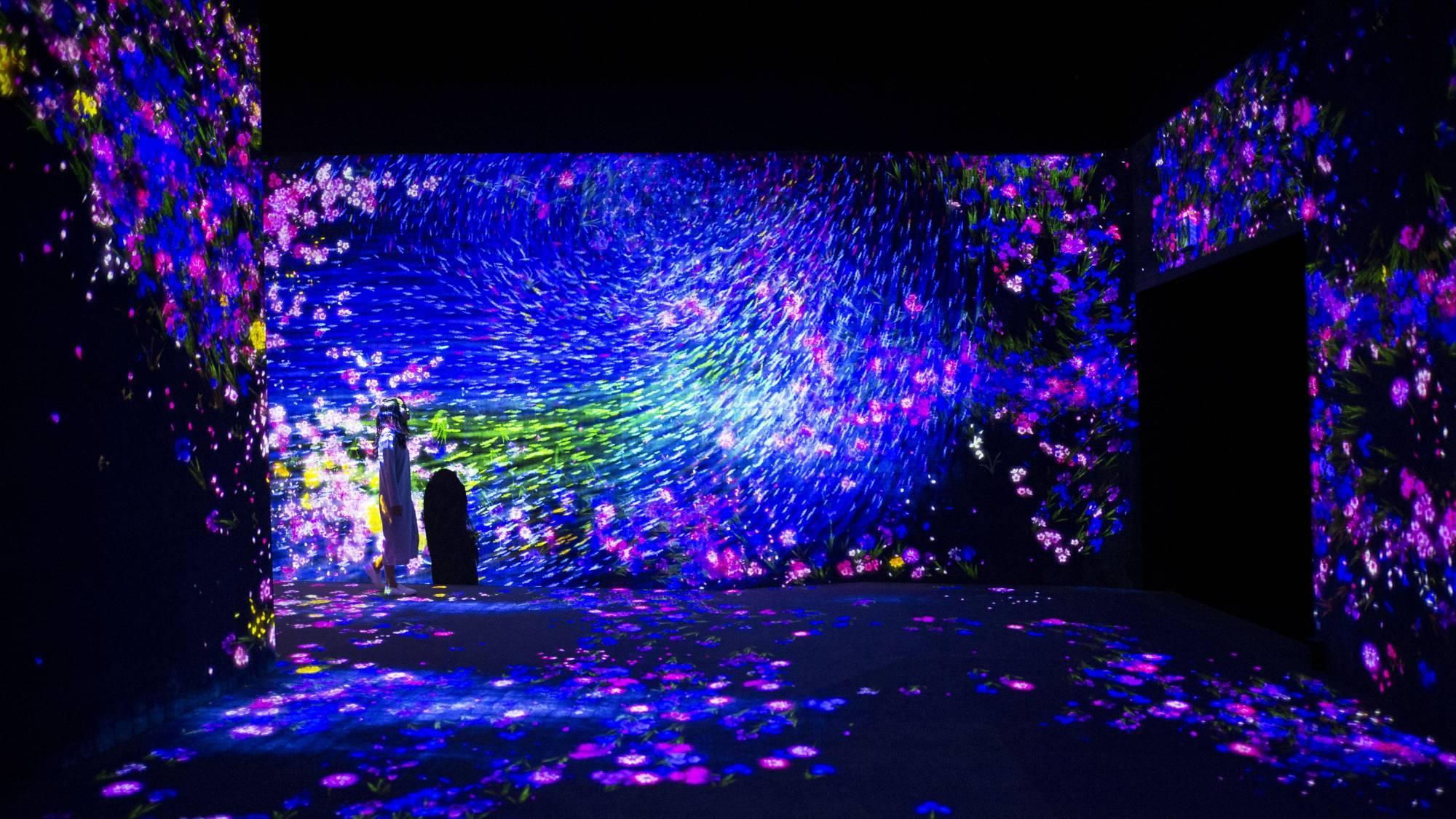 Токио Другая реальность: первый в мире Музей цифровых искусств в Токио 15045