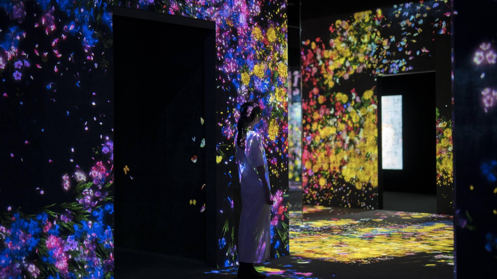 Токио Другая реальность: первый в мире Музей цифровых искусств в Токио 15091