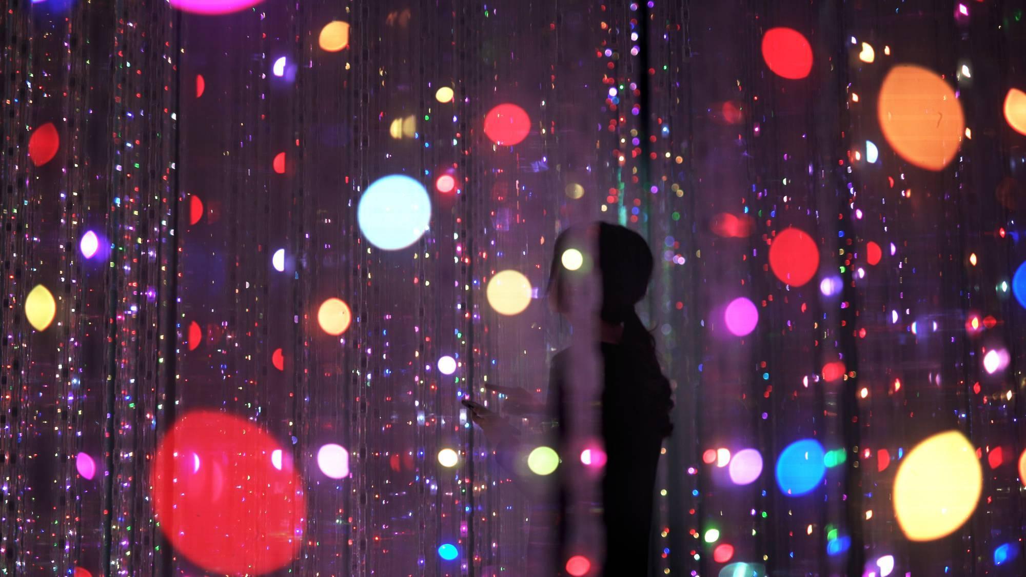 Токио Другая реальность: первый в мире Музей цифровых искусств в Токио 15121