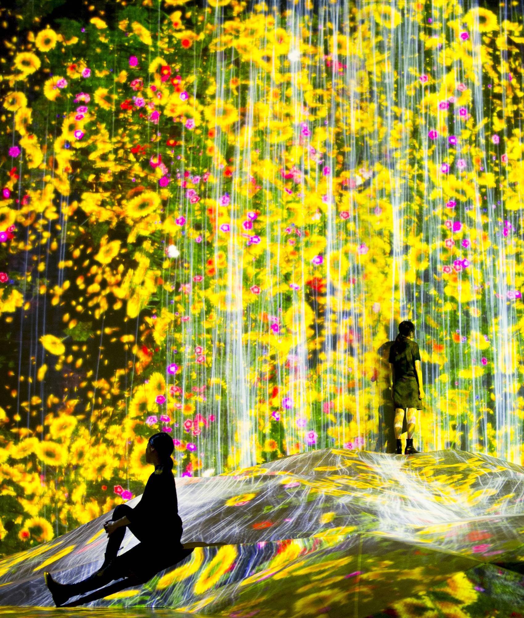 Токио Другая реальность: первый в мире Музей цифровых искусств в Токио 4