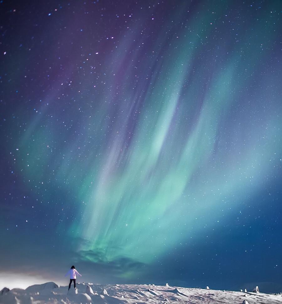 Лучшие астрономические фото года Лучшие астрономические фото года PS33906 Aurora 20wings 20 C2 A9 20Jingyi 20Zhang