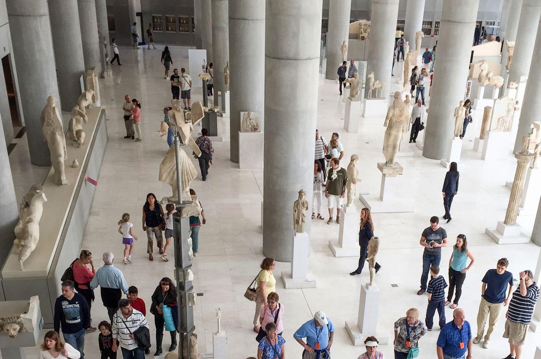 34 полезные ссылки для тех, кто едет в Грецию AcropolisMuseum 0595