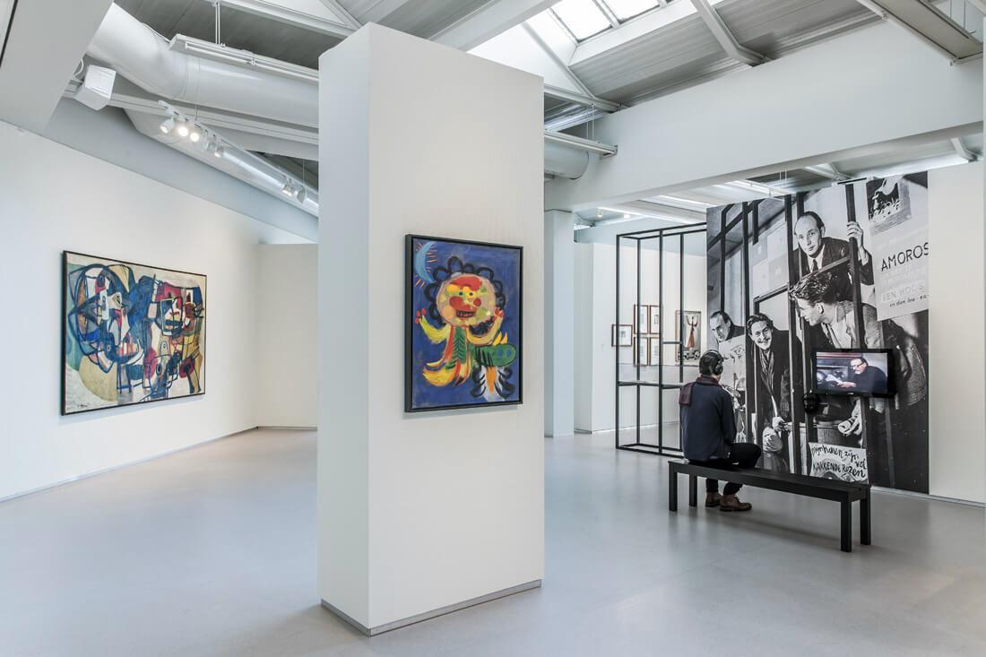 музеи Амстердама Видеть больше: Лучшие музеи Амстердама 18Cobra 20Museum 20voor 20Moderne 20Kunst 20