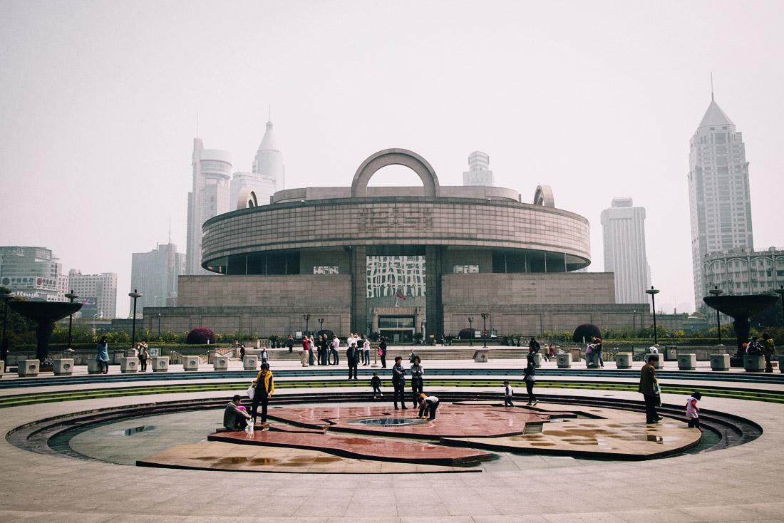 музеи китая Лучшие музеи Китая Shanghai Museum