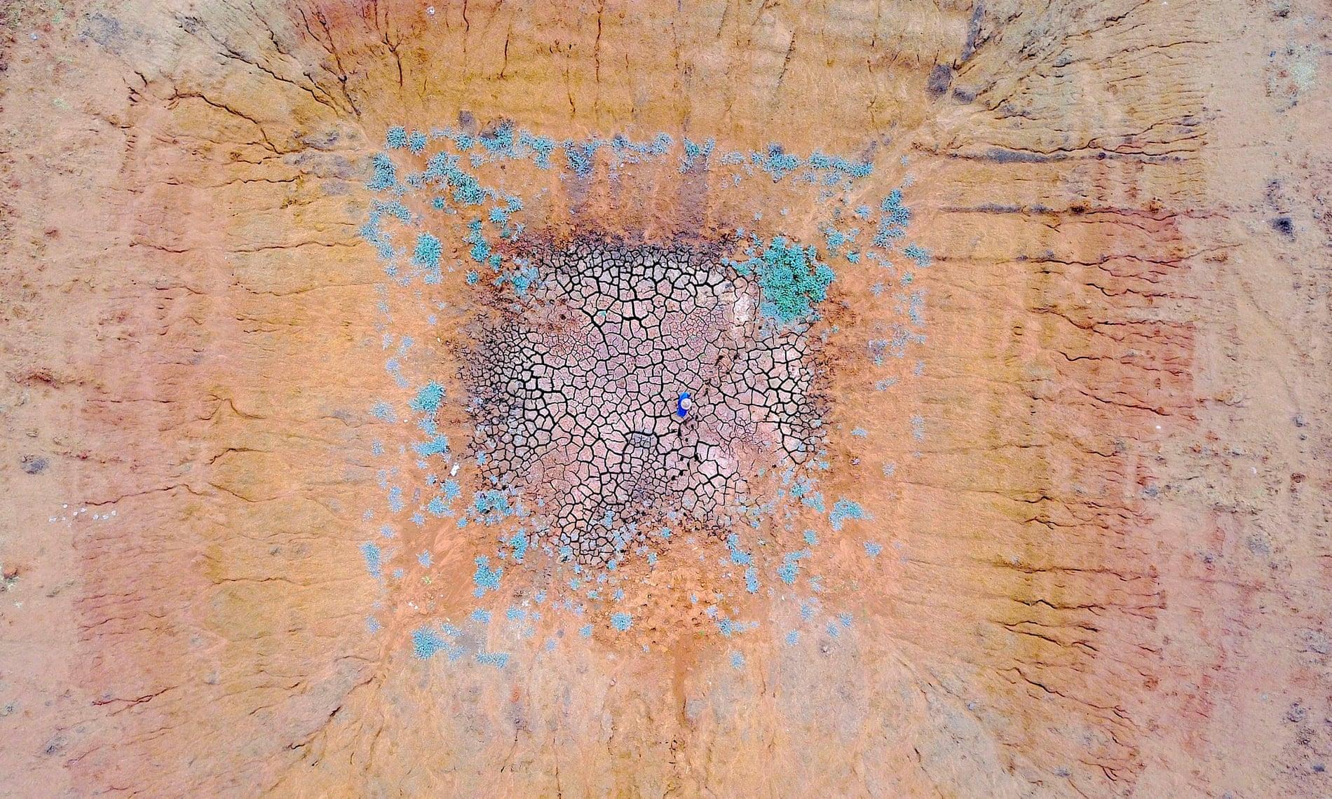 Фото дня: засуха в Австралии с высоты птичьего полета Фото дня: засуха в Австралии с высоты птичьего полета 3289