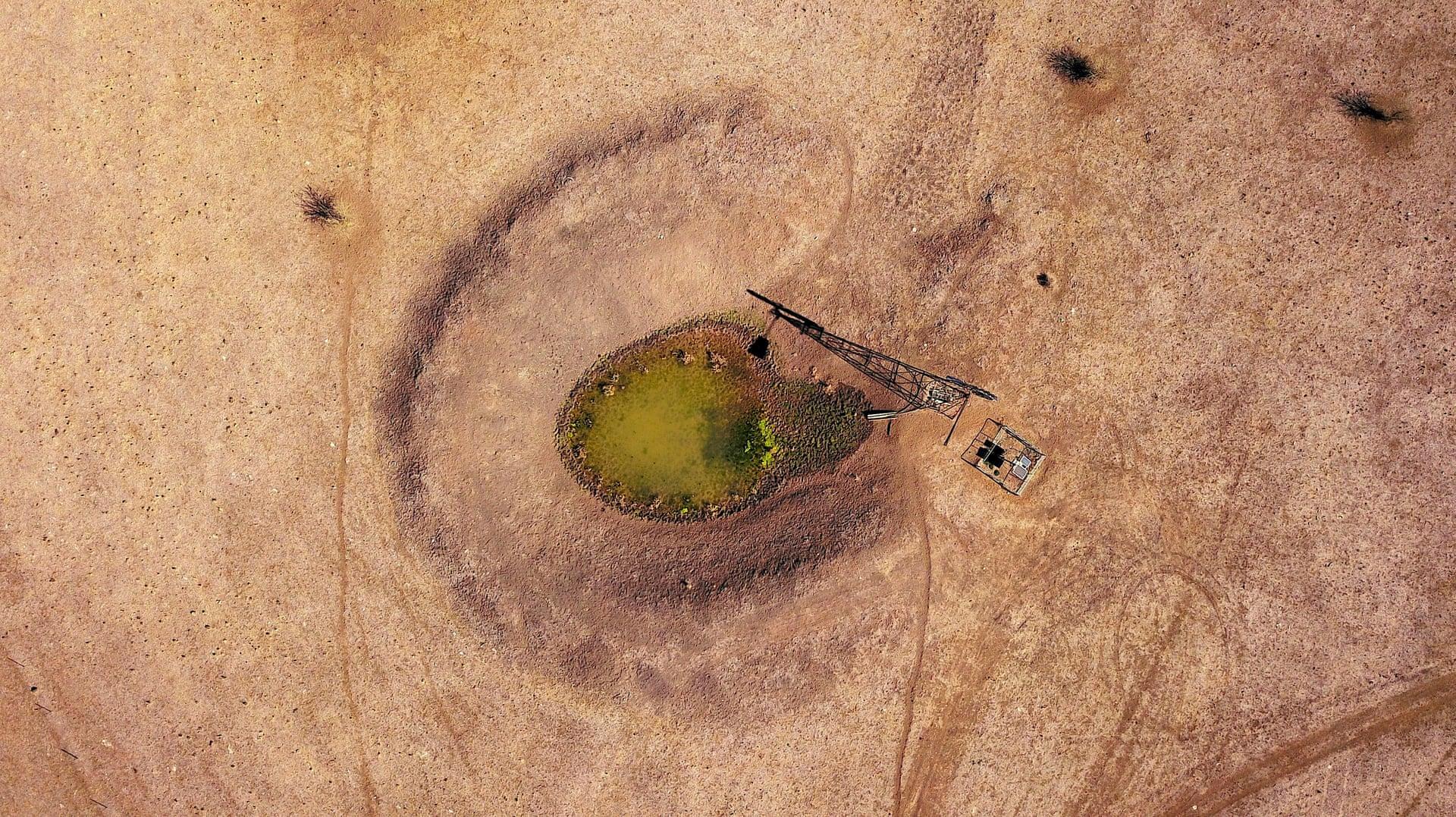 Фото дня: засуха в Австралии с высоты птичьего полета Фото дня: засуха в Австралии с высоты птичьего полета 3500 20 10