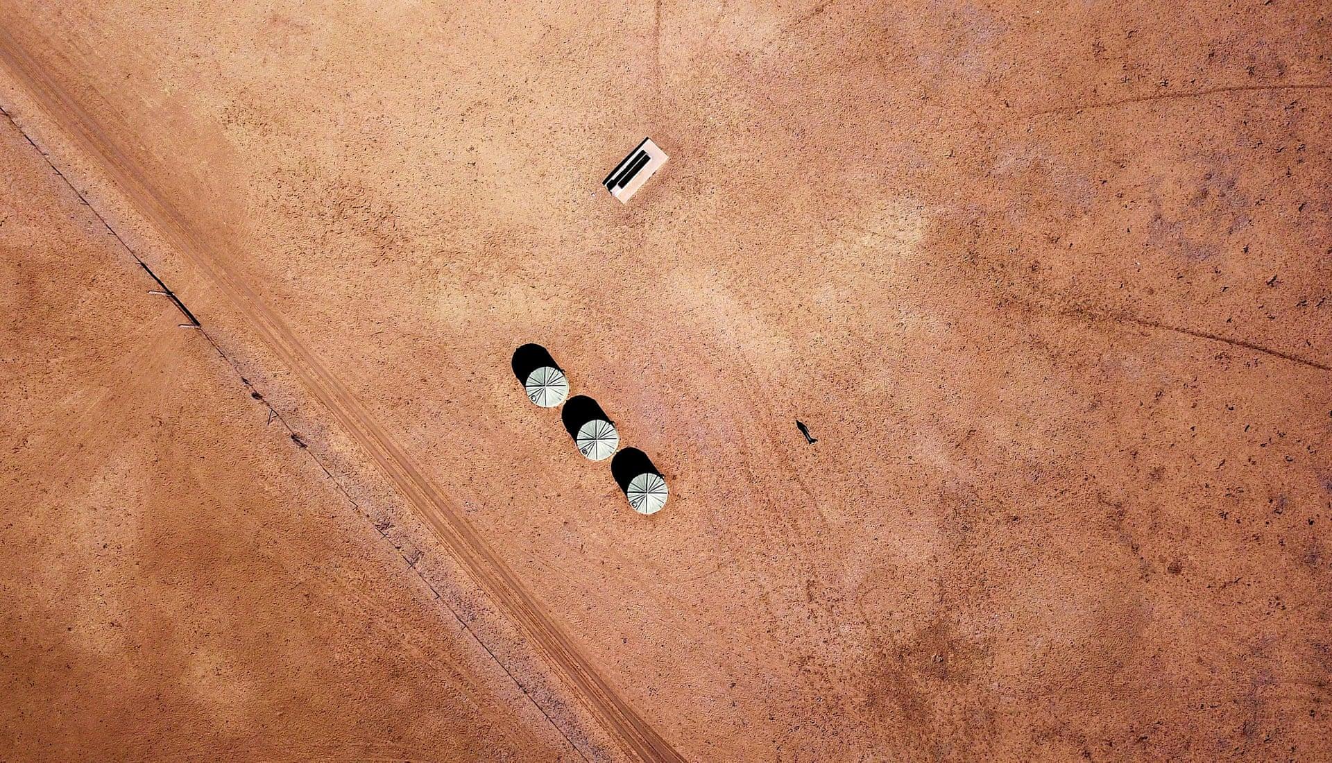 Фото дня: засуха в Австралии с высоты птичьего полета Фото дня: засуха в Австралии с высоты птичьего полета 3500 20 5