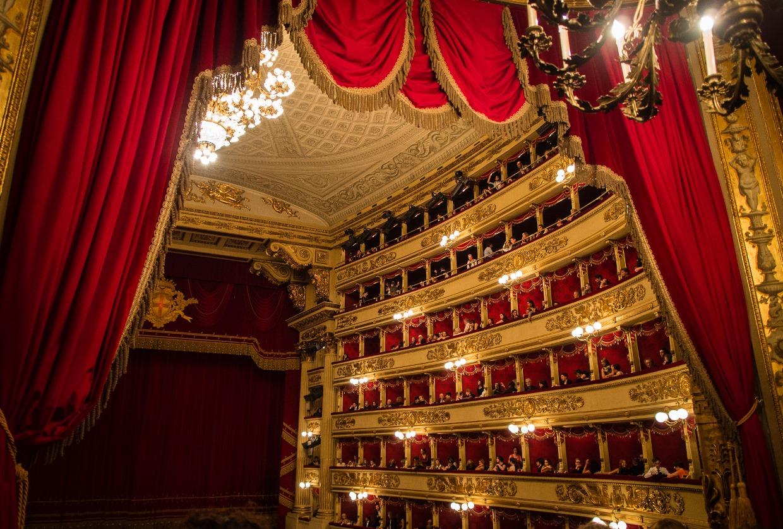 самом картинки театр ла скала соответствии общим стилем