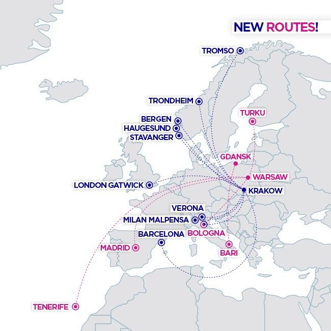 Wizz Air открывает новые рейсы из Польши|В дороге - сайт о путешествиях и приключениях